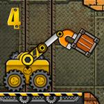 لعبة الشاحنة الرافعة