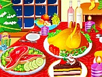 تحضير عشاء عيد الميلاد الرائع