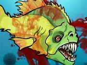 اطعام الاسماك المتوحشة 4