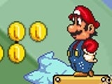 لعبة مغامرات ماريو