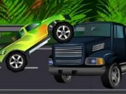 لعبة شاحنة عقبات الوحش2
