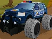 لعبة شرطة الطرق الوعرة