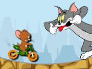 لعبة توم وجيرى الدراجة البسيطة