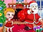 الطفل العسل فى عيد الميلاد