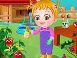 تعليم الطفل الاهتمام بالزهور