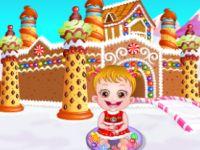 الطفل بمنزل الحلويات