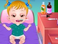 العنايه بالطفل المريض