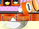 صنع الكيك بالكرز