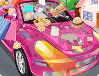 تنظيف السيارة الجديدة