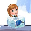 انقاذ السا من الجليد العاب اطفال
