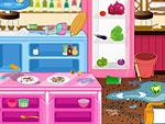 لعبة تنظيف المطبخ