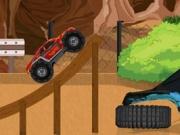 لعبة سيارة الوحش المثيرة
