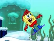 سبونج بوب التزلج على الجليد