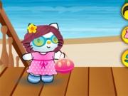 لعبة مرحبا كيتى ملابس الصيف