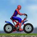 لعبة سبايدر مان ودراجة الموت