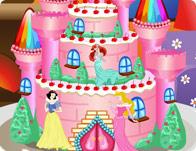 كعكة قلعة الاميرة