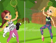 تلبيس البنات ملابس الرياضه