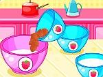 تورتة الفراولة الحلوى | العاب طبخ