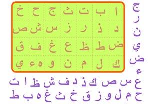 لعبة تعلم الحروف العربية