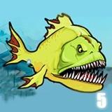 تغذية الأسماك المتوحشة