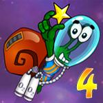 لعبة الحلزون بوب فى الفضاء