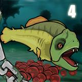 اطعام الاسماك 4