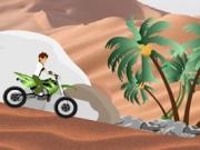لعبة سباق بن تن بالصحراء