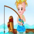 العاب بيبي هازل وصيد السمك