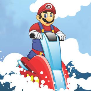 لعبة تزلج ماريو