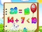 لعبة تعليم الحساب والجمع للاطفال الصغار