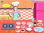 لعبة باربي تطبخ المهلبية