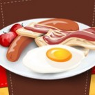 العاب طبخ البيض مع اللحم