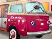 اصلاح سيارة الايس كريم