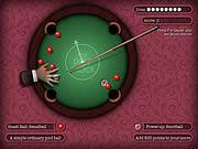 لعبة بلياردو على مدار الساعة