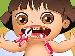 تنظيف اسنان دورا