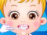 تعليم طفلك تنظيف الاسنان