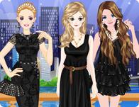 تلبيس البنات الملابس السوداء