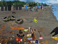 تنظيف المحيط