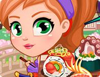 طبخ سوشي النينجا