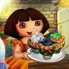 دورا وكعكة الهالوين