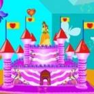 تزيين كعكة القصر