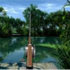 بحيرة صيد الأسماك