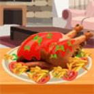طبخ الديك الرومي