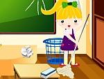 تنظيف المدرسة