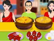 لعبة طبق من جنوب الهند